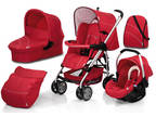 Hauck Condor All in One Set - Trio Red Travel System...