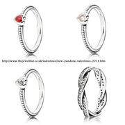 Pandora Valentines Rings and awesome full Valentines collection