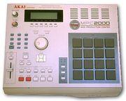 Akai MPC 2000 + SCSI ZIP 250 drive + 17 ZIP DISCS