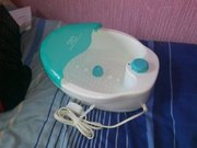 visiq bubble foot bath for sale, never been used