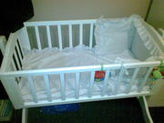 baby crib new condition