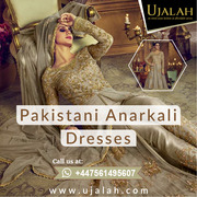 Pakistani Anarkali Dresses uk